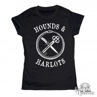 Hounds and Harlots - Girl Shirt - black