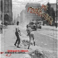Punkroiber, Die - Prepare to Revolt LP lim. 200 white