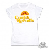 Contra Records - Vinyl Collectors - Girl Shirt white