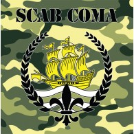Scab Coma - same - black 7`EP lim.200