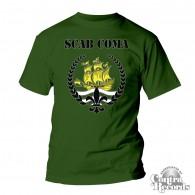 Scab Coma -logo- T-Shirt Green