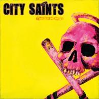 """City Saints - """"The last boys"""" 7"""" EP lim. 125, blue Vinyl, DL Cod"""