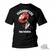 45 Adapters - T-Shirt - Vinyl Fetishists black (Last Sizes!)