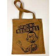 "Cotton Bag ""Contra Records Oi!"" bronze"