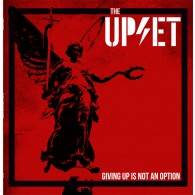 Upset,the - GIVIN UP IS NOT AN OPTION - LP, lim.200 red