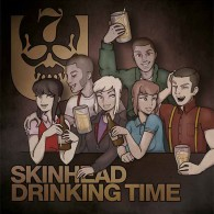 """7er Jungs - Skinhead Drinking Time - lim. 500, 7"""" EP"""