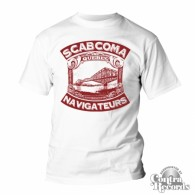 Scab Coma - T-Shirt - white