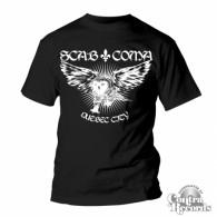 """Scab Coma - """"Quebec City"""" - T-Shirt black"""