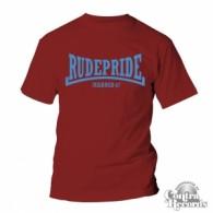 Rude Pride - T-Shirt - Bordeaux