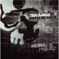 """V/A Bonecrusher/7er Jungs- Split 7""""EP lim.200 Gold/Black-Splatter"""