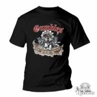 GUMBLES-Schlittenhunde & Kojoten - T-Shirt Men Black-S (last size!)