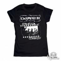 Oxymoron - Fuck the Nineties -Girl Shirt black