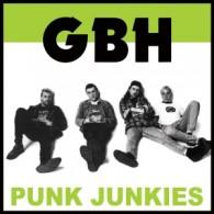 "G.B.H - Punk Junkies 12""LP"