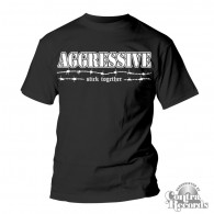 AGGRESSIVE - Stick Together T-Shirt black