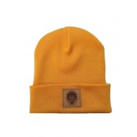 """Contra Records """"Black Panther"""" - Beanie yellow"""