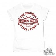 Bishops Green - hockey Girl Shirt white