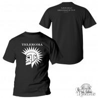 "Telekoma - ""Geistige Brandstifter""  T-Shirt Black front/backprint"
