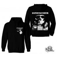 "Bonecrusher- ""city hall"" hoody fron-+backprint black"