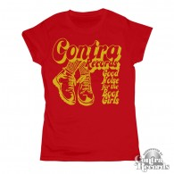 Contra Records - Good Noise for the Bootgirls - Girl Shirt red