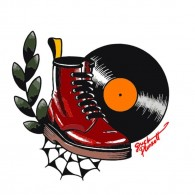 Boots and Vinyl - Sticker