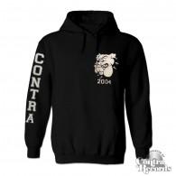 Contra - Streetwear Bulldog - Hoody black