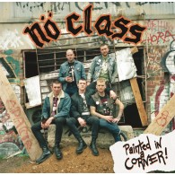 "No Class - Painted in a Corner 12""LP lim. 200 red EU-VERSION"