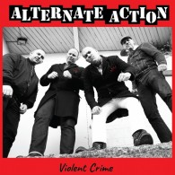 "Alternate Action - ""Violent crime"" 12""MLP lim. 650 white (silkscreened B side)"