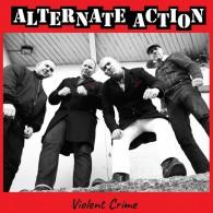 """Alternate Action - """"Violent crime"""" 12""""MLP lim. 350 silver (silkscreened B side)"""