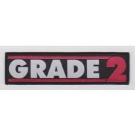 "Patch - Grade 2 ""new logo"""