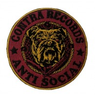 "Contra Records ""Antisocial Bulldog"" - Patch"