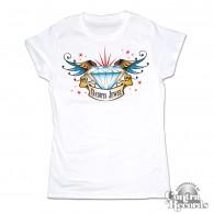 Daddys Jewel white - Girl Shirt