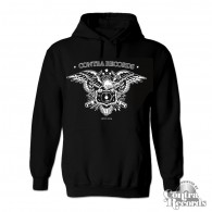 "Contra Records - ""Eagle"" Hoody black"