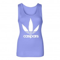 Crushing Carspars - Girl Tanktop light blue