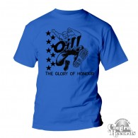 "Oil! ""The Glory Of Honour"" - T-Shirt royal blue"