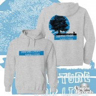 """Subculture For Life - """"small man..."""" Hoody grey front/backprint"""