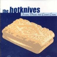 """Hotknives - Screams, Dreams & Custard Creams 12""""LP ltd. blue vinyl"""