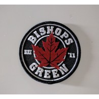 """Patch - Bishops Green """"leaf"""""""