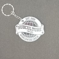 Subculture for Life - Worldwide Crew '09 - Keychain ice blue
