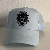 """Contra Records """"Black Panther"""" - Trucker Cap sky blue"""