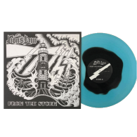 """Lion's Law-From the storm 12""""LP 2nd press electric blue with blk"""