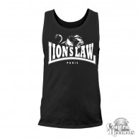Lion`s Law - LION - Men Tanktop - black