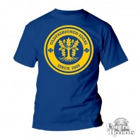 "Oldfashioned Ideas - ""oak"" T-Shirt royal blue"
