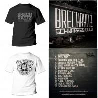 "Brechraitz - ""Schwarzes Gold"" - #package deal 12""GF-LP+T-Shirt"