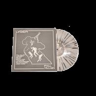 "LVGER - FVLL_VILLAIN 12""LP lim. 300 white with black splatter (Contra EU version)"
