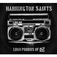 "Harrington Saints - 1000lbs Of Oi! 12""LP lim. 250 black"