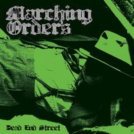 "Marching Orders ‎- Dead End Street 10""LP 10th Anniversary  Re-Issue lim.300 black"