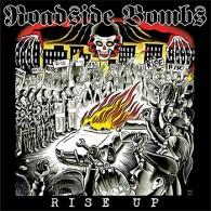"""Roadside Bombs - Rise Up 12""""LP lim.200  Mustard inside Red Orange,Black,White Splatter"""