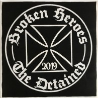 """V/A Broken Heroes / The Detained Split 7""""EP lim. 20 Testpress with extra Cover"""