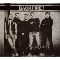 Backfire! ‎- Where We Belong - Digipack-CD