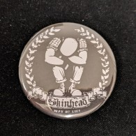 Skinhead A Way Of Life - Big  Button 56mm